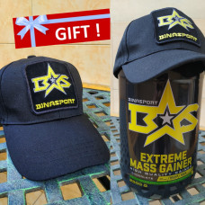 Buy a gainer, get a cap as a gift !