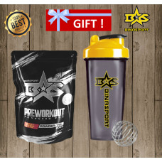 """Buy the """"PreWorkout Advanced PRO"""" pre-workout complex and get a shaker for free!"""